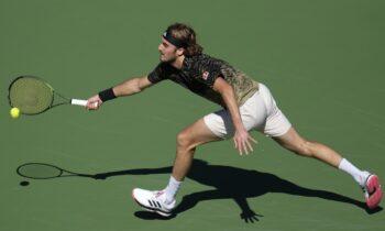 Ο Έλληνας τενίστας. Στέφανος Τσιτσιπάς.