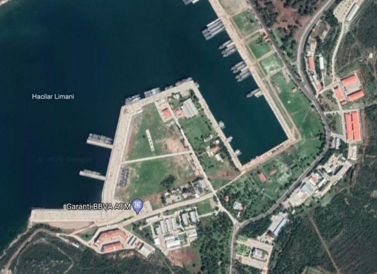 η βάση των Τούρκων στη Φώκαια