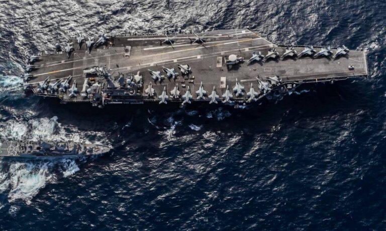 Αεροπλανοφόρο των ΗΠΑ πλησιάζει το στενό της Μαλάκα – Τι θα κάνουν οι Κινέζοι