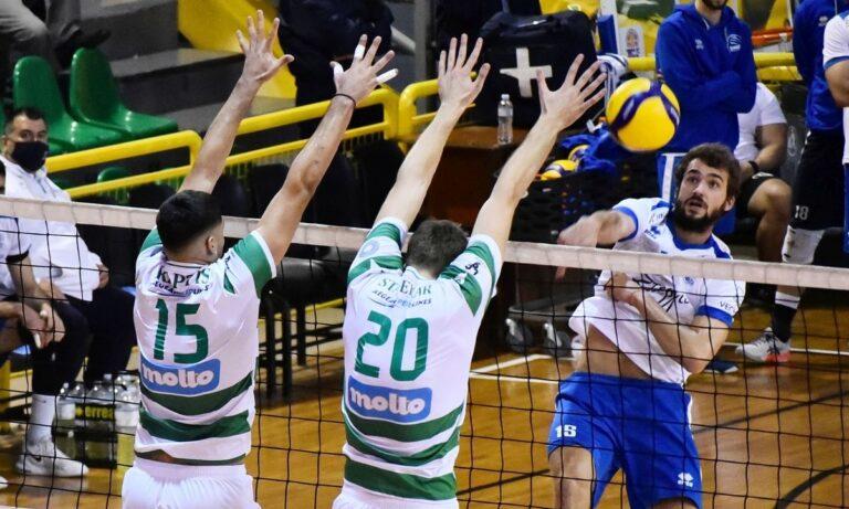 Volley League: Με Βαν ντε Ντρις οδηγό «καθάρισε» ο Παναθηναϊκός την Κηφησία
