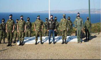 Toύρκοι: Επίτηδες πόζαρε ο Χαρδαλιάς με την Σμύρνη από πίσω του